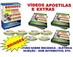 Eletricista Automotivo E Injeção Eletrônica 4 Dvds - A13