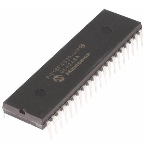 Pic18f4520 A-i/p Paquete X3 Microcontrolador Pic Microchip