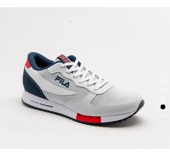 Talle 46 Al 49!! Zapatillas Fila Euro Jogger +envío Gratis!!
