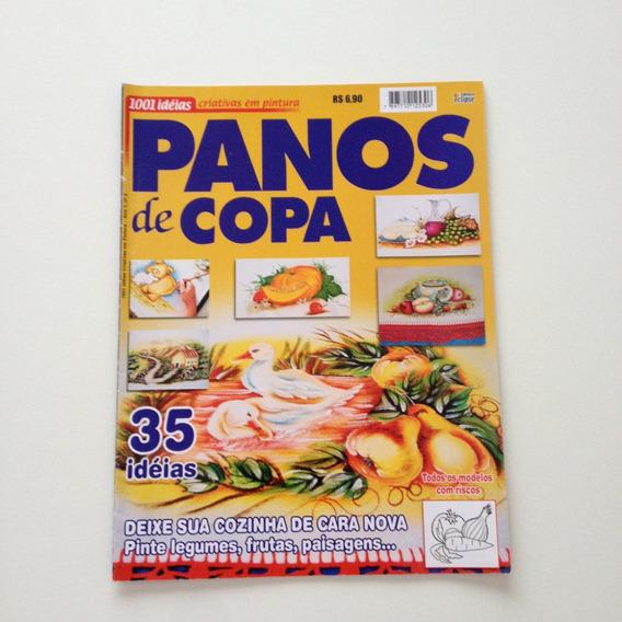 Revista 1001 Idéias Criativas Em Pintura Panos De Copa B673