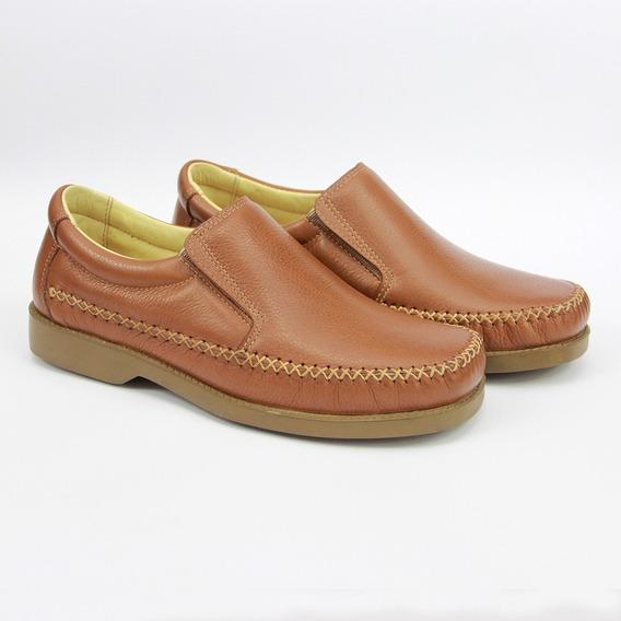Sapato Masculino Social Couro Palmilha Gel 165