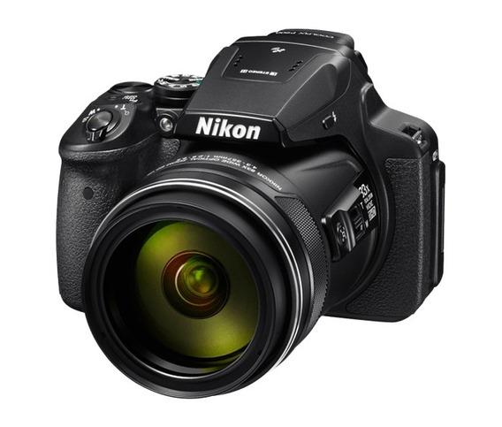 Câmera Nikon Dslr Coolpix P900 16mp 83x Preto