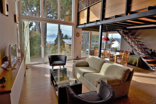 Alquiler Casa Moderna Con Jacuzzi Y Vista Al Lago Bariloche