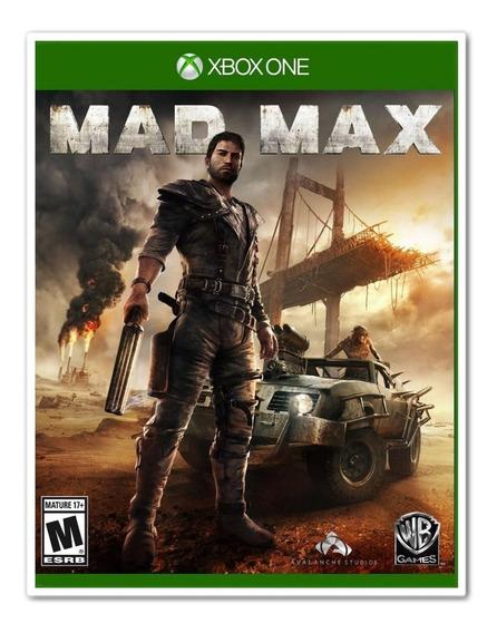Mad Max Para Xbox One + 1 Jogo Brinde