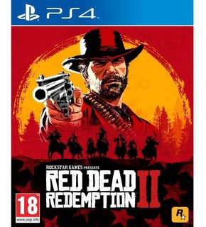 Red Dead Redemtion 2 Ps4 1° - Garantia Real - Primero Game