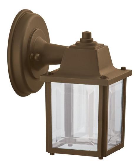 Arandela Vintage Externa Retro Industrial E27 Marrom Alz18