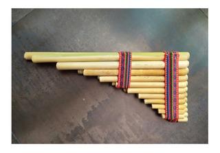 Zampoña,instrumento Musical Andino Afinado En 4:40