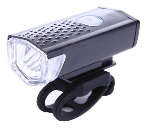 Imagen 1 de 7 de Luz Led Delantera Usb Recargable Bicicleta Luces Frontal