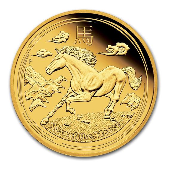 Robmar-australia-3,12 G. De Oro Puro 0,999 De 24 K,caballo