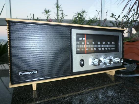 Radio Antigo Panasonic Modelo Re-6283-am/fm-assiste Vídeo