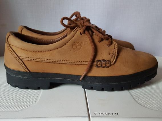 Zapatos Timberland Cafés De Piel T-25cm