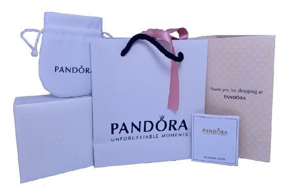 Kit De Regalo Pandora (bolsas, Caja Pulsera, Etc.) Original