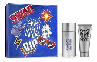 Perfume Importado Hombre 212 Nyc Men Edt 100ml + After Shave Gel