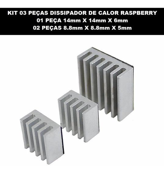 Dissipador Calor Raspberry Pi Lm2596 Arduino Esp Dc Dc Cola