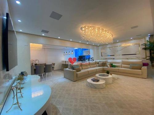 Apartamento Dos Sonhos Alto Padrão  Anália Franco - Ap3496