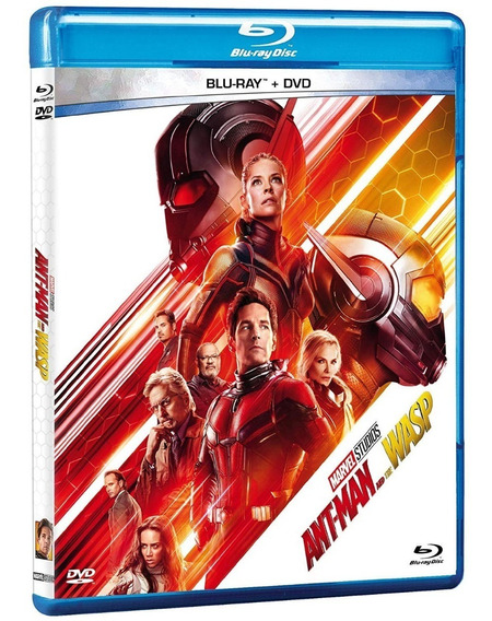 Ant-man And The Wasp Pelicula Bluray + Dvd Slipcover