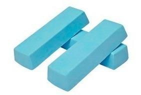 Massa Azul Alto Brilho Para Aço Inox Aluminio Etc