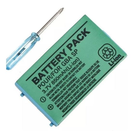 Bateria Para Nintendo Gameboy Advance Sp Com Nf
