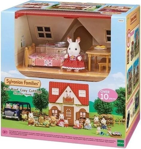 Sylvanian Families Casa Con Accesorios Personaje Conejo 5303