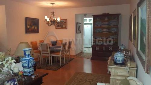 Apartamento À Venda, 2 Quartos, 1 Suíte, 2 Vagas, Copacabana - Rio De Janeiro/rj - 16271