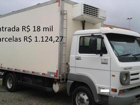 Caminhão Vw 9-150 Com Bau Refrigerado Ano 2013
