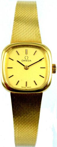 Omega - Feminino - Ouro 18 Kt - Manual