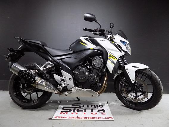 Honda Cb500f Negra 2015