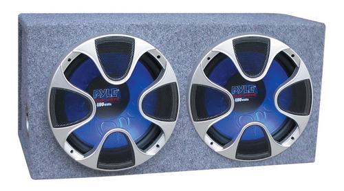 Pyle Caja Doble Subwoofer Plbs122 12 1000 Watts