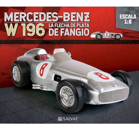 Arma Mercedes Benz W196 Flecha De Plata Fangio N° 48