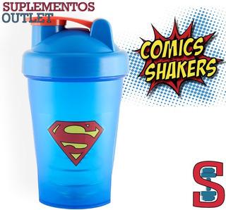 Shaker Superheroes. 400ml. Comic Shaker. Superman