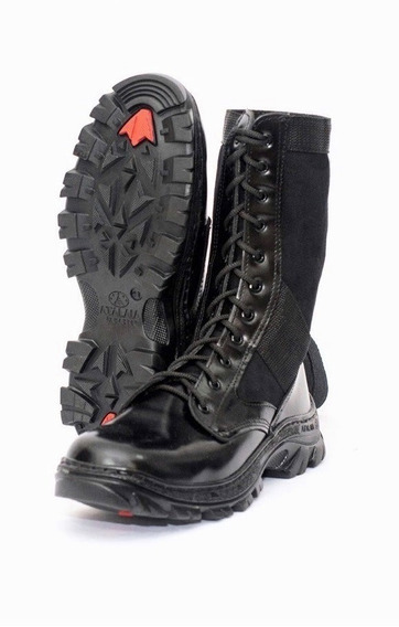 Coturno Tático Militar Troller + Cadarço Elástico