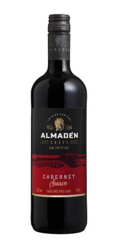 Imagem 1 de 1 de Vinho Fino Tinto Suave Almadén Cabernet 750ml