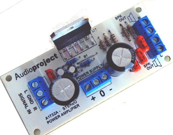 Modulo Amplificador Estereo 40+40 Watts - Audioproject