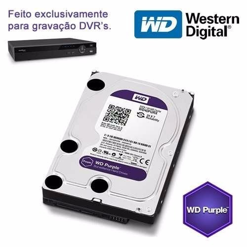 Dvr Intelbras 1016 16 Canais 720p Hdcvi + Hd 3tb Wd Purple