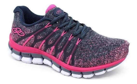 Lançamento Tênis Infantil Menina Olympikus Diffuse Pink P