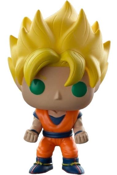 Figura Muñeco Funko Pop Dragon Ball Z Super Saiyan Goku 14