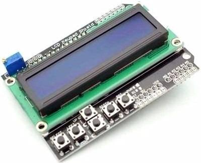 Display Lcd Keypad Shield 16x02 Com Teclado Botoes Arduino