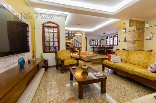 Imagem 1 de 30 de Casa Para Venda, 5 Dormitórios, Jardim Santo Elias - São Paulo - 4201