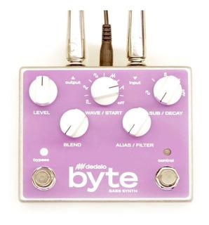 Pedal Efecto Bajo Dedalo Fx Byte Bass Synth