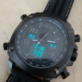 Relógio Weide Militar Cor Black Analógico/digital Wh5208-1c.