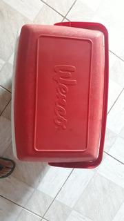 Caixa Térmica Vermelha 32 Litros Nova