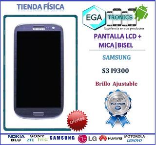Pantalla Lcd + Mica Tactil + Bisel Samsung S3 Grande I9300
