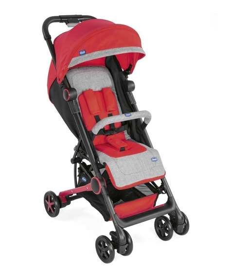 Cochecito Bebe Chicco Miinimo 2 Ultracompacto Rojo Babymovil