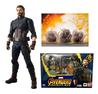 S.h Figuarts Captain America And Effect Explosion