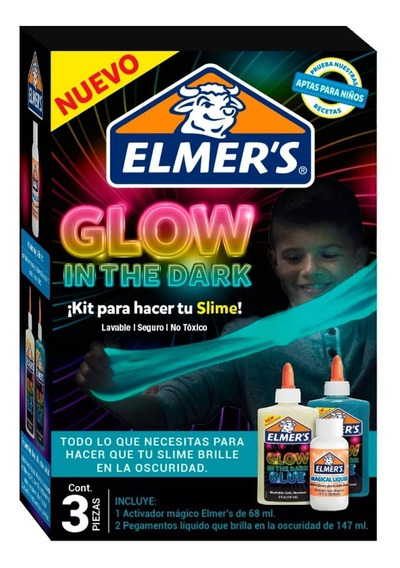 Kit Elmers Glow In The Dark Activador