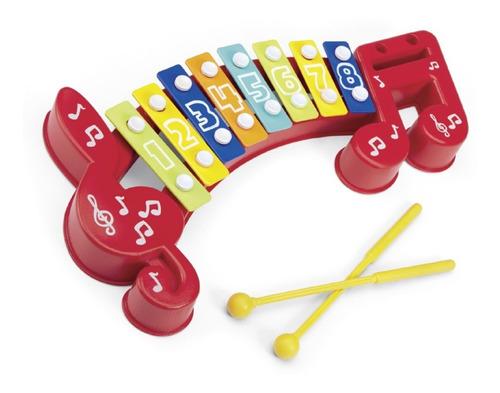 Xilofon Instrumento Musical Original Ok Baby 0169 Edu Full