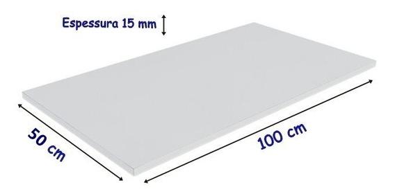 Tabua De Corte 100 X 50 Cm X 15 Mm Polietileno Laticínios