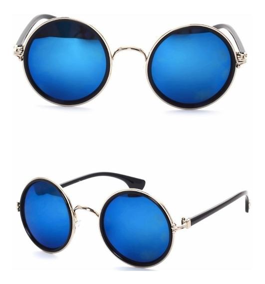 Gafas Redondas John Lennon Unisex Con Filtro Uv 400 Retro
