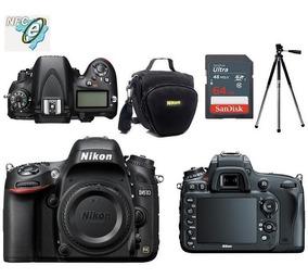 Nikon D610 Corpo Full Frame + Bolsa+tripé+64gb Classe 10