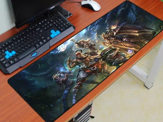 Mouse Pad Gamer 70x35 League Of Legends Grande Lol (10)